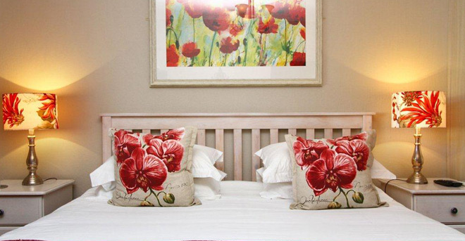 Luxury bedroom in Apple Tree Guest House in Stellenbosch